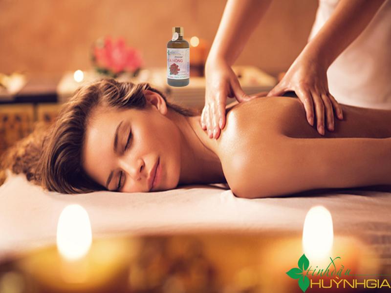 massage hoa hong