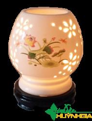 Đèn Xông Tinh Dầu gốm Bát Tràng TDHG01