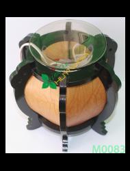 Đèn xông tinh dầu GỖ M0083